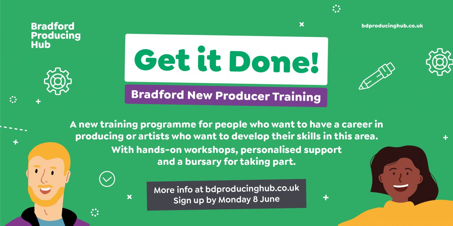 New Producer Training Get it Done - get it done flyer