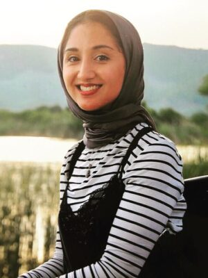 Head shot of Aina J Khan from the Creativity Council