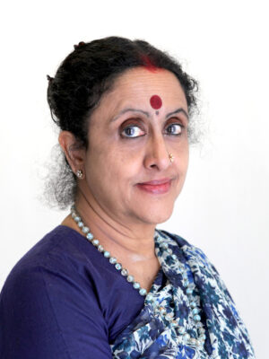 Head shot of Geetha Upadhya with The Creativity Council