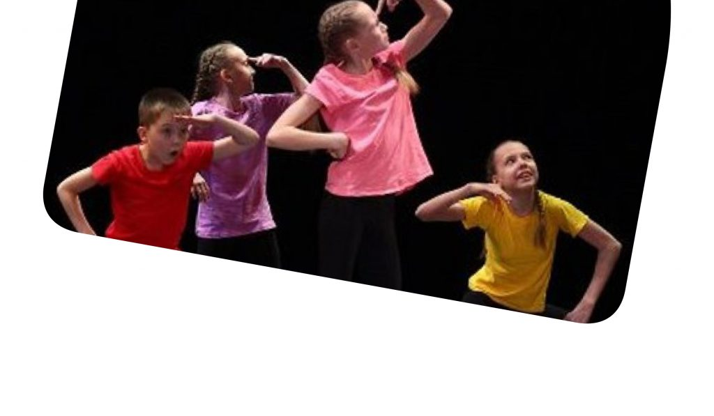 image of children dancing