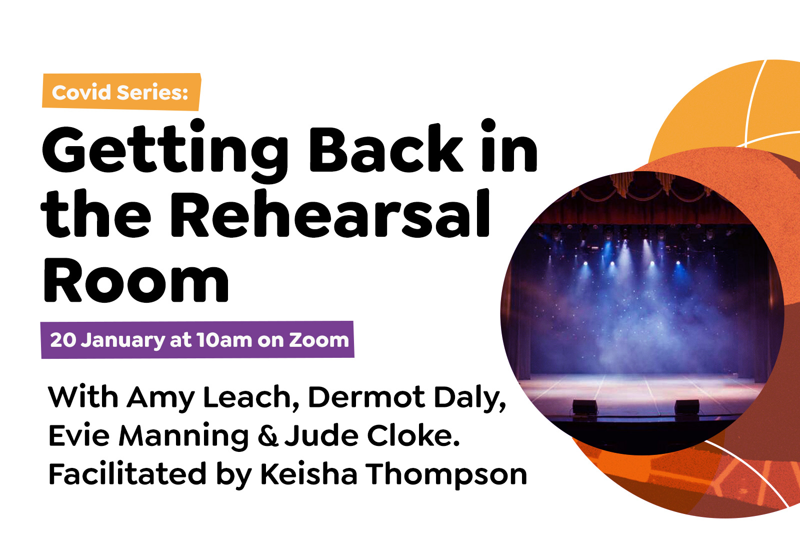 COVID Series: Getting Back in the Rehearsal Room