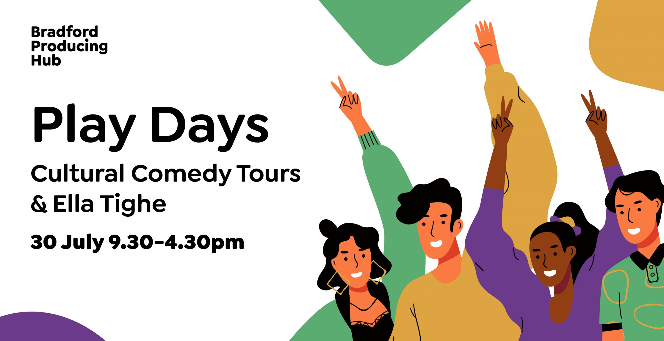 Plays Days with Cultural Comedy Tours and Ella Tighe